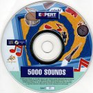 5000 Sounds CD-ROM for Windows - NEW CD in SLEEVE