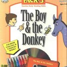 The Boy & the Donkey (Ages 3-6) CD-ROM for DOS/MAC - NEW in SLV