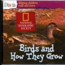 Discis: Birds and How They Grow (Ages 4-9) CD-ROM for Win/Mac - NEW Sealed JC