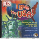DK I Love the USA! (Ages 6-9) CD-ROM for Windows - NEW in JC