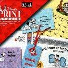 Disney's 101 Dalmatians Print Studio CD-ROM for Windows - NEW Sealed