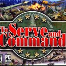 To Serve and Command PC CD-ROM for Windows 98/Me/XP - NEW in JC
