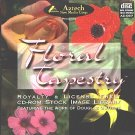 Floral Tapestry: CD Image Library PC/MAC - NEW CD in SLEEVE
