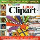 1,000 Clipart - International CD-ROM for Win - NEW CD in SLEEVE