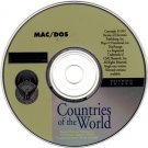 Countries of the World (PC/MAC 1991) CD-ROM for DOS/MAC - NEW CD in SLEEVE