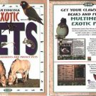 Multimedia Exotic PETS CD-ROM for Win/Mac - NEW CD in SLEEVE
