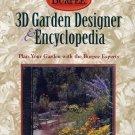 Burpee 3D Garden Designer & Encyclopedia CD-ROM for Windows - NEW CD in SLEEVE