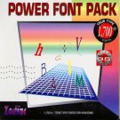 Zodiac Power Font Pack (1700+) CD-ROM for Windows - NEW CD in SLEEVE