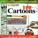 100 Cartoons CD-ROM for Windows - NEW CD in SLEEVE