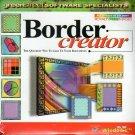 Border Creator CD-ROM for Windows - NEW CD in SLEEVE