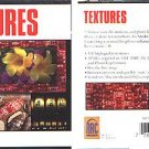 TEXTURES CD-ROM for Windows-OS/2-Mac - NEW CD in SLEEVE