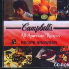 Campbell's All-American Recipe Browser CD-ROM for Windows - NEW in JC