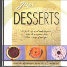 Just DESSERTS CD-ROM for Win/OS2/Mac - New Sealed JC