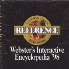 Webster's Interactive Encyclopedia '98 CD-ROM for Windows - NEW in JC
