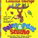 Curious George: Paint-n-Print Studio (Age 3-8) PC-CD Windows - NEW CD in SLEEVE