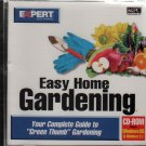 Easy Home Gardening CD-ROM for Windows - NEW in JC