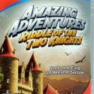 Amazing Adventures: Riddle of the Two Knights CD-ROM for Win/Mac -NEW in DVD BOX