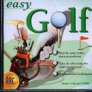 easy GOLF CD-ROM for Windows & Macintosh - NEW CD in SLEEVE