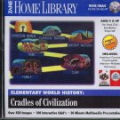 World History: Cradles of Civilization CD-ROM for Win/Mac - NEW CD in SLEEVE
