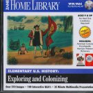 Elementary U.S. History: Exploring And Colonizing CD Win/Mac - New CD in SLEEVE
