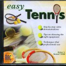 easy Tennis CD-ROM for Win/Mac - NEW CD in SLEEVE