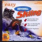 easy Downhill Skiing CD-ROM for Win/Mac - NEW CD in SLEEVE
