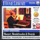 Great Composers: Mozart, Mendelssohn & Dvorak CD for Win/Mac - NEW CD in SLEEVE