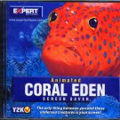 Animated CORAL EDEN Screen Saver CD-ROM for Windows - NEW CD in SLEEVE