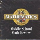 Middle School Math Review CD-ROM for Windows - NEW CD in SLEEVE