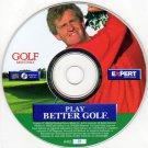 Play Better Golf CD-ROM for Windows - NEW CD in SLEEVE