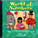 Jostens Learning: World of Numbers (Ages 4-9) CD-ROM Win/Mac - NEW in Sealed JC