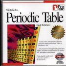 Multimedia Periodic Table CD-ROM for Windows - NEW CD in SLEEVE