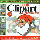1,000 Clipart - Christmas CD-ROM for Windows - NEW CD in SLEEVE