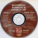 Multimedia Marriage & Divorce Law CD-ROM for Windows - NEW CD in SLEEVE