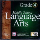 Middle School Language Arts 4th Grade CD-ROM for Windows - NEW CD in SLEEVE