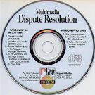 Multimedia Dispute Resolution Law CD-ROM for Windows - NEW CD in SLEEVE