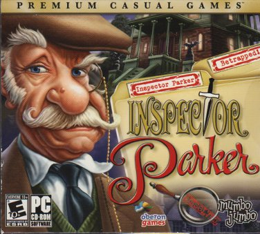 Inspector Parker Unsolved & Betrapped! CD-ROM for Windows - NEW Sealed JC