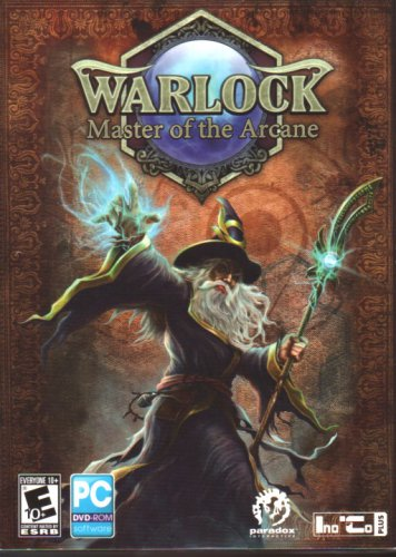 Warlock: Master of the Arcane (2012) DVD-ROM for Windows - NEW SEALED DVD BOX