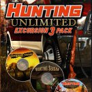 Hunting Unlimited Excursion 3 Pack PC-CD for Win XP/Vista/7 - NEW CD in SLEEVE