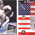 History of U.S. Space Program CD-ROM for Windows - NEW CD in SLEEVE