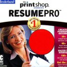 The Print Shop Essentials: Resume PRO CD-ROM for Windows - NEW CD in SLEEVE