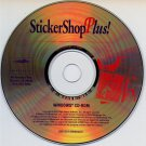 StickerShop Plus! CD-ROM for Windows - NEW CD in SLEEVE
