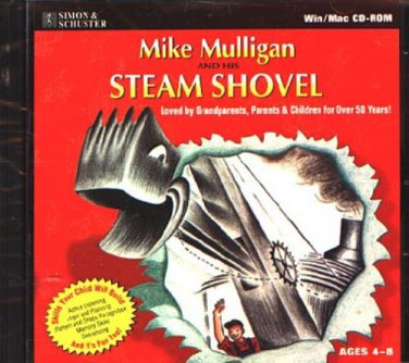 Mike Mulligan & His STEAM SHOVEL CD PC/MAC - NEW CD in SLEEVE