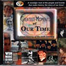 Greatest Moments of Our Time CD-ROM for Win/Mac - NEW in Jewel Case