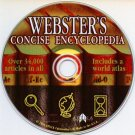 Webster's Concise Encyclopedia (1994) PC-CD for Windows - NEW CD in SLEEVE