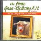 The Home Gene-Splicing Kit v2 CD Win/Mac- NEW CD in SLEEVE