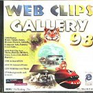 Web Clips Gallery 98 CD-ROM for PC/MAC/UNIX - NEW CD in SLEEVE