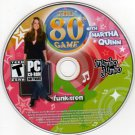 The 80's Game w/Martha Quinn CD-ROM for Windows - NEW CD in SLEEVE