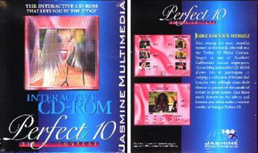 Perfect 10 Bikini Contest CD-ROM for Windows - NEW CD in SLEEVE