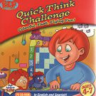 Quick Think Challenge (Ages 4-7) PC-CD for Windows - NEW in Retail Sleeve